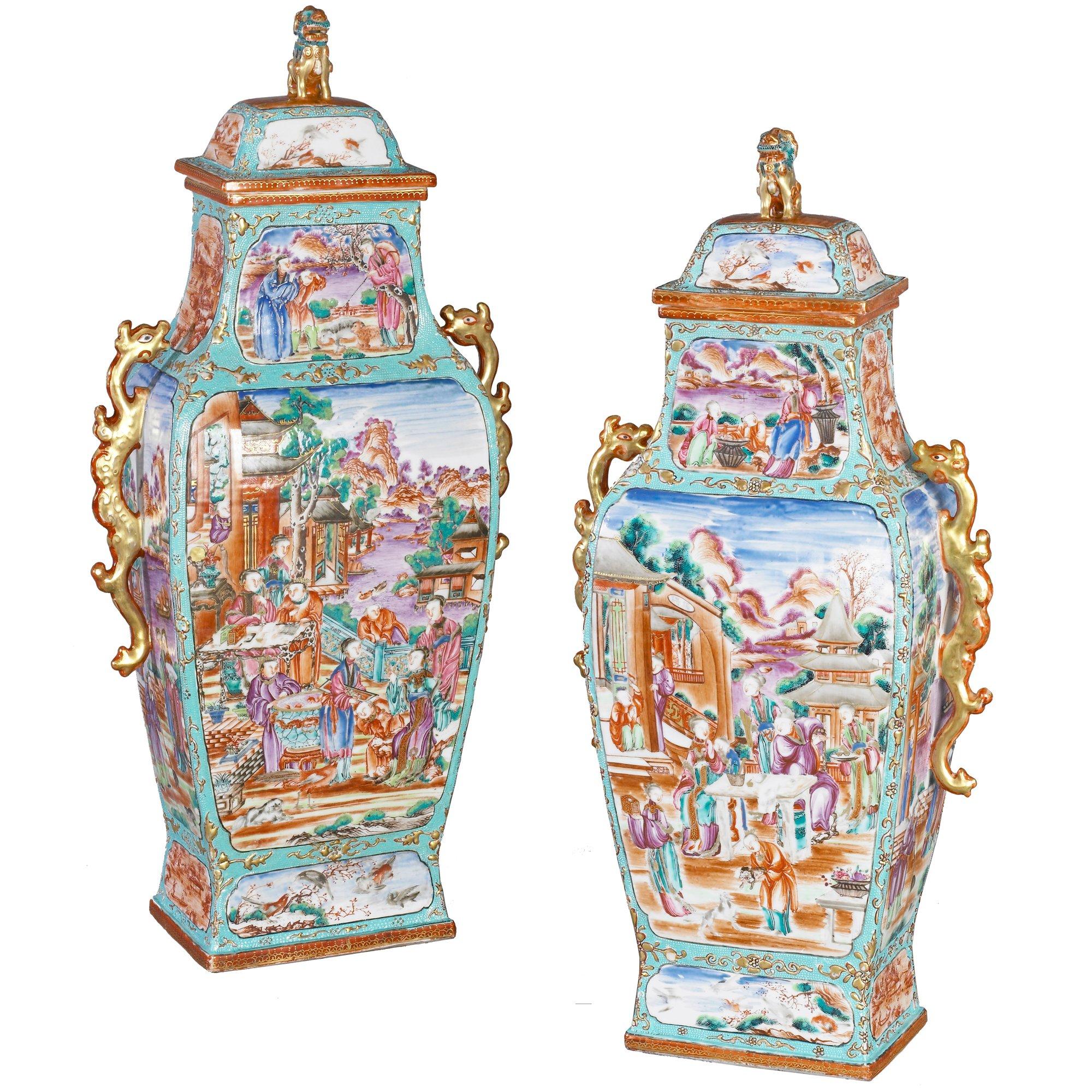 chinese vases hepplewhites